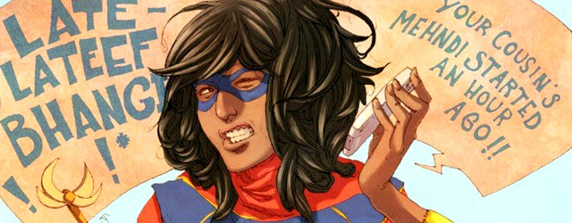 On this episode, the TSP crew discusses Star Trek Lin-sanity, some of our favorite comics of 2014, and the reinvention of a classic superhero in MS. MARVEL!
