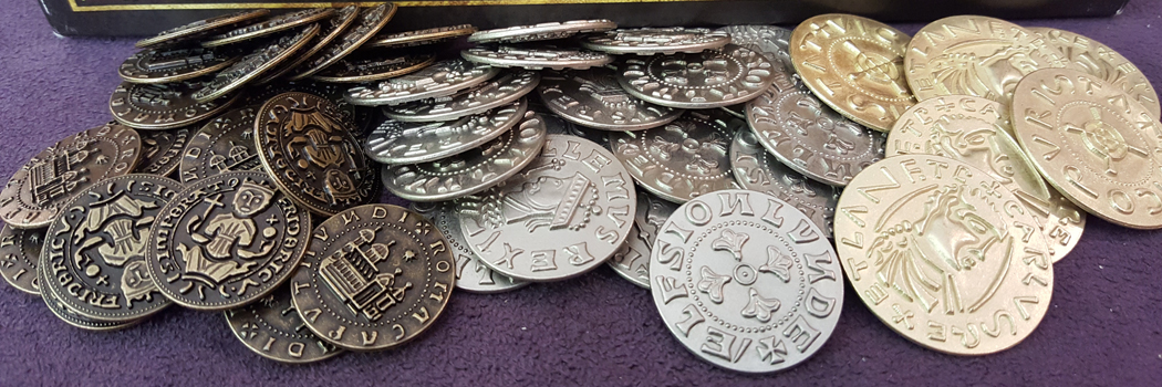 Board Games and Metal Coins, An Obsession